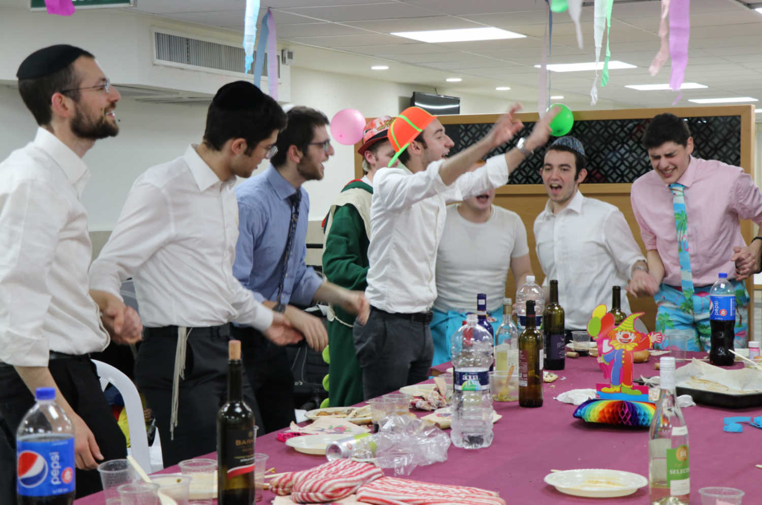Purim in Yeshiva